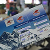 Boarding pass to Everest...fingers crossed!