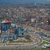 Kathmandu from the plane