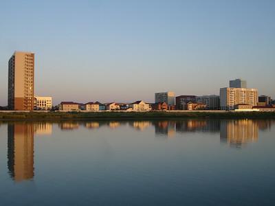 Ural River, Atyrau, Kazakhstan