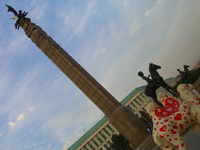 Love Camel, Republic Square - Almaty, Kazakhstan