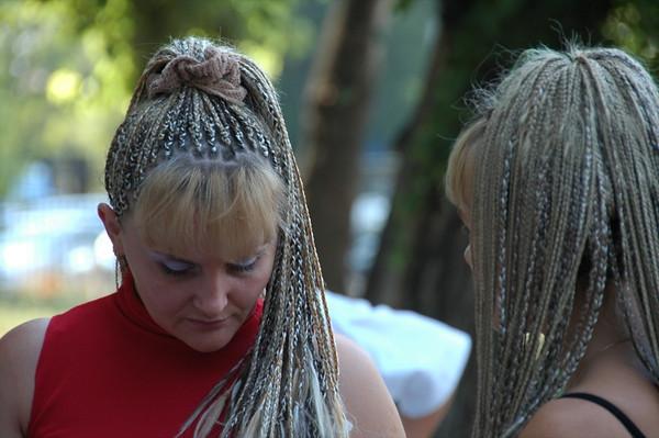 Russian Women and Braid Extensions - Almaty, Kazakhstan