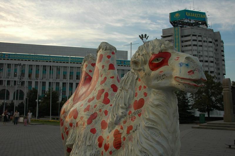 Camel Sculpture - Almaty, Kazakhstan