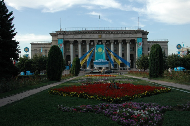 Old Parliament - Almaty, Kazakhstan