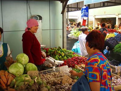 Zelyony Bazaar (Market) - Almaty, Kazakhstan