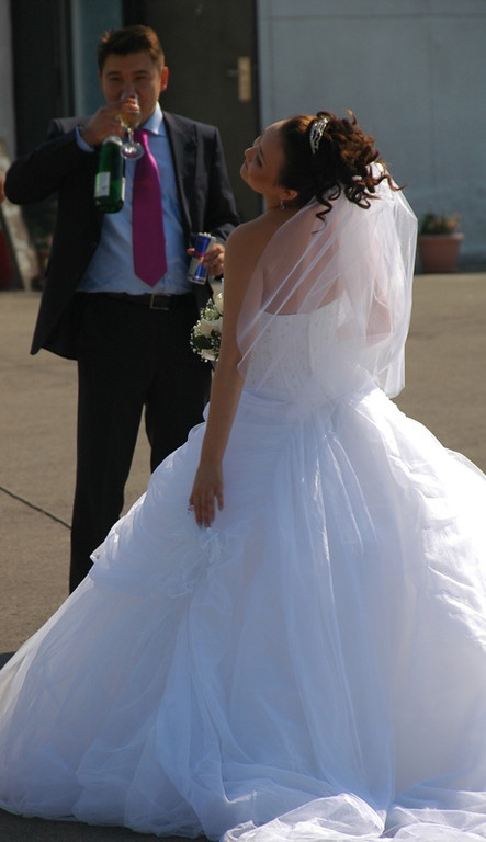 Kazakh Bride Striking A Pose - Almaty, Kazakhstan