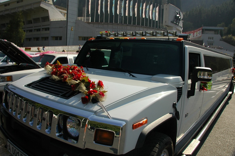 Hummer for a Kazakh Wedding - Almaty, Kazakhstan
