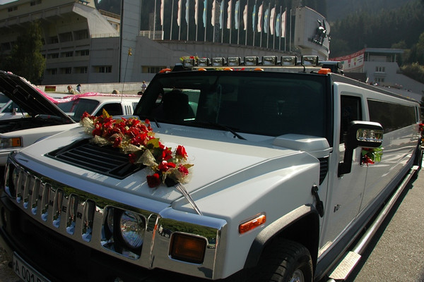 Hummer for a Kazakh Wedding - Almaty, Kazakhstan