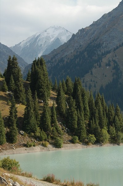 Big Almaty Lake, Tian Shan Mountains - Almaty, Kazakhstan