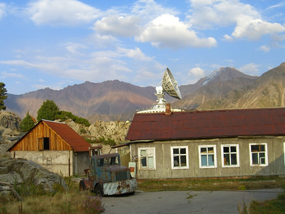Tian Shan Observatory, Satellite Dish - Almaty, Kazakhstan