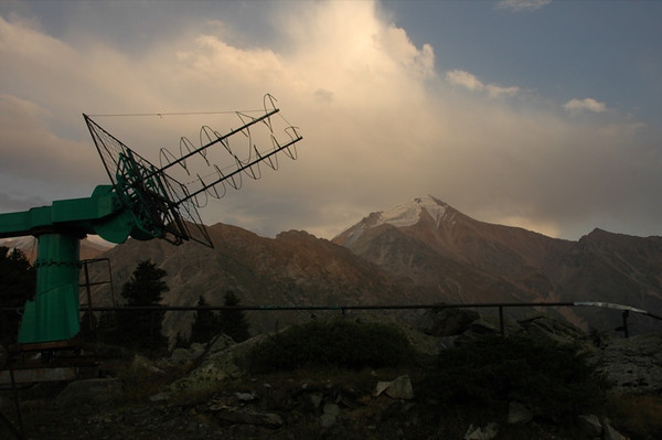Cold War Relics at Tian Shan Observatory - Almaty, Kazakhstan