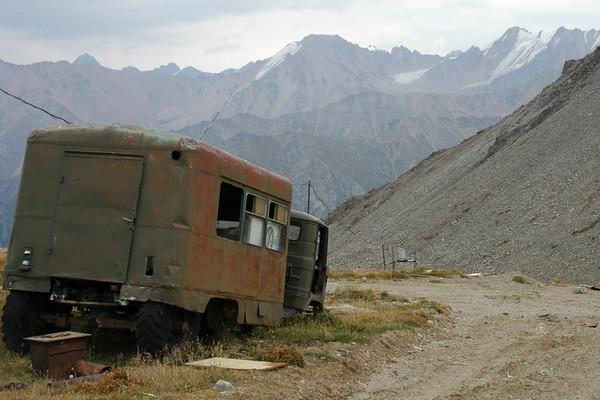 Abandoned Truck near Kosmostantsia - Almaty, Kazakhstan
