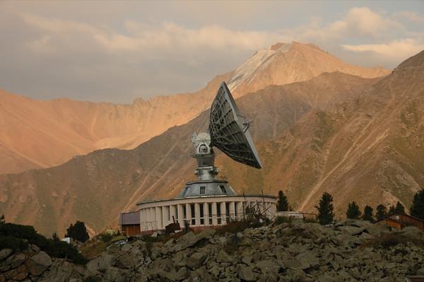 Satellite Dish at Tian Shan Observatory - Almaty, Kazakhstan