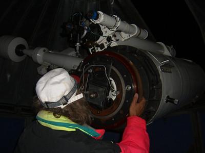 Russian Astronomer, Telescope- Almaty, Kazakhstan