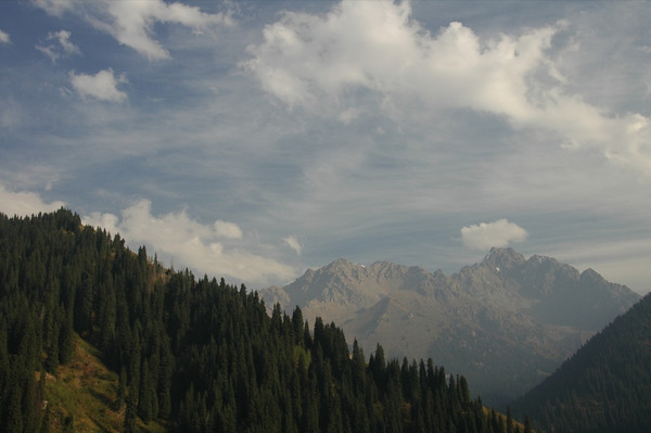 Tian Shan Mountains - Almaty, Kazakhstan