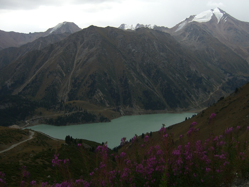 Big Almaty Lake - Tian Shan Mountains, Kazakhstan