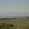 Kz 0005 uitzicht op bergen bij Almaty