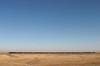 Train across steppe