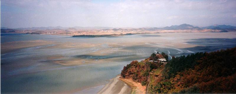 1997 - DMZ looking across to North Korea,
