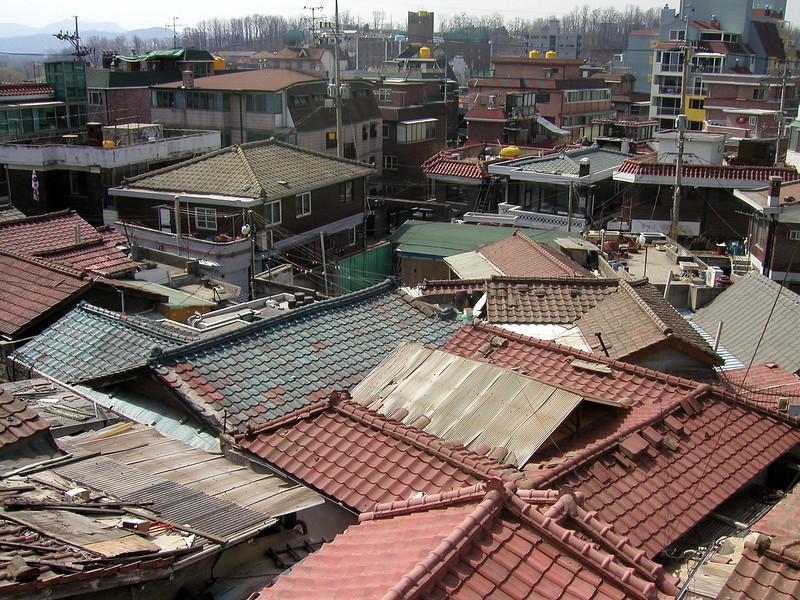 Seoul rooftops, 2002