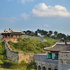 Hwaseong Fortress Wall in Suwon