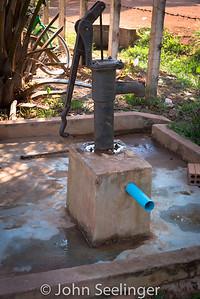 water well pump; Cambodia