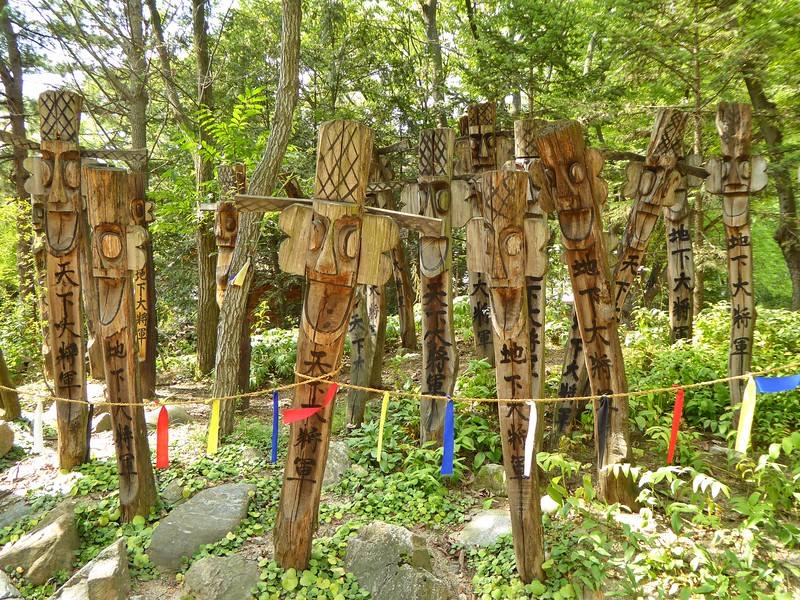 Korean Totem Poles To Ward Off Disasters and Crime