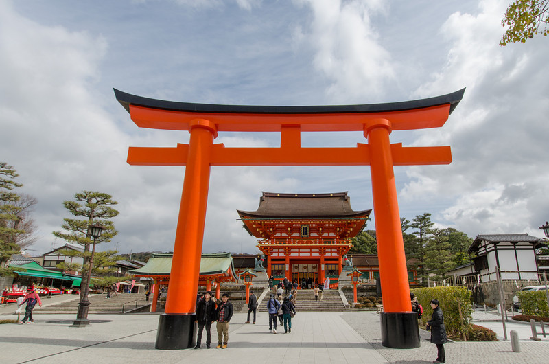 The red torii gates at Fushimi-Inari Shrine | The Best Kyoto Temples and Shrines