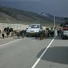 Uz 1950 onderweg van Osh naar Sary-Tash