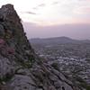 Uz 2148 Osh, uitzicht vanaf Suleyman-Too