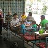 Kz 3783 lunch bij Jalalabad
