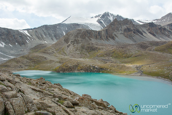 Koshkol Lakes Views - Alay Mountains of Kyrgyzstan
