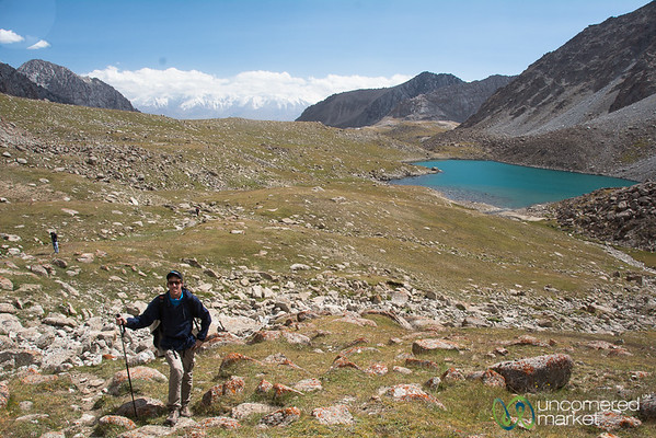 Alpine Lake and Mountain Views - Koshkol Lakes Trek, Alay Mountains of Kyrgyzstan