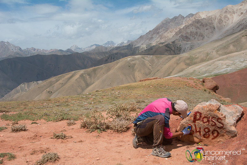 Marking the Trails - Alay Mountains, Kyrgyzstan