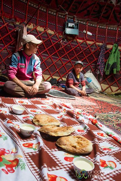 Kyrgyz Hospitality in the Alay Mountains - Kyrgyzstan