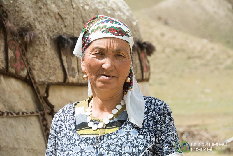 Kyrgyz Woman, Alay Mountains