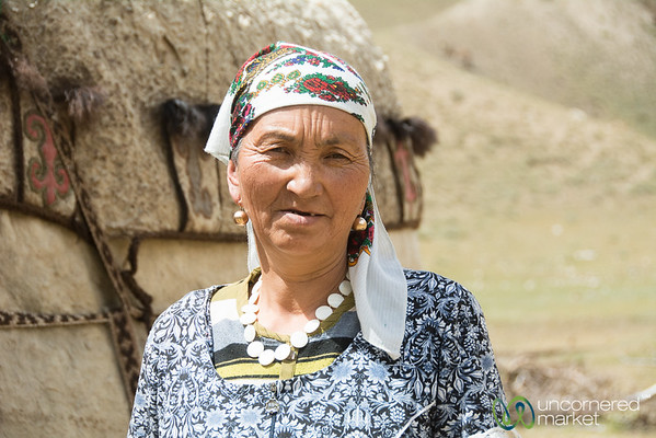 Kyrgyz Woman, Alay Mountains