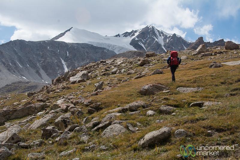 Glacier Views, Koshkol Lakes Trek - Alay Mountains of Kyrgyzstan