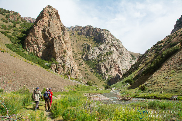 Hiking in the Alay Mountains, Kyrgyzstan