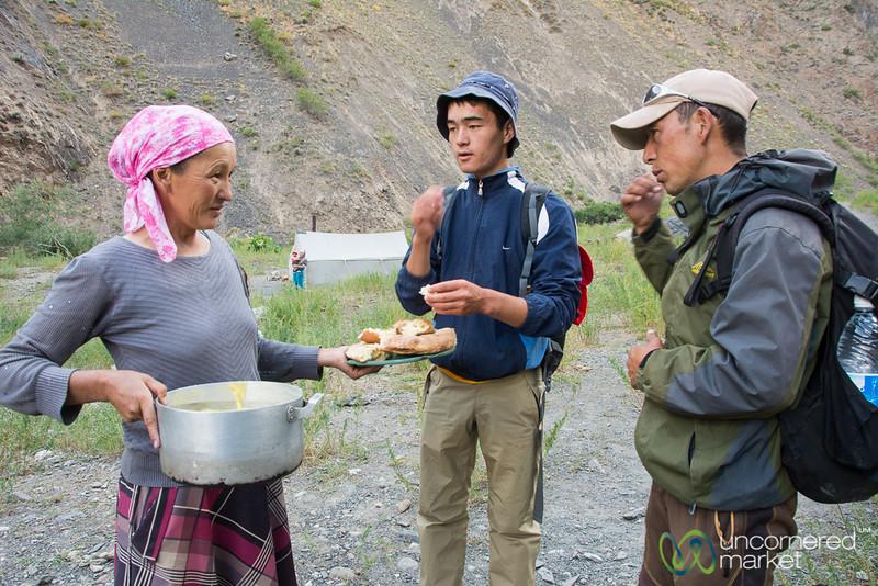 Kyrgyz Hospitality in the Alay Mountains, southern Kyrgyzstan