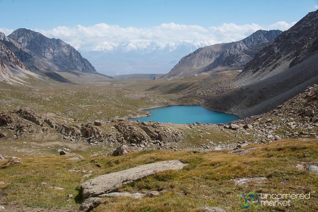 Alpine Lake and Views of Pamir Mountains - Koshkol Lakes Trek, Alay Mountains