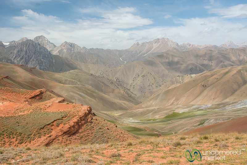 Layers of Mountains in the Alay Mountains - Kyrgyzstan
