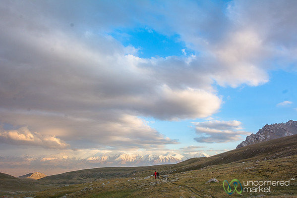 Dusk in the Alay Mountains - Kyrgyzstan