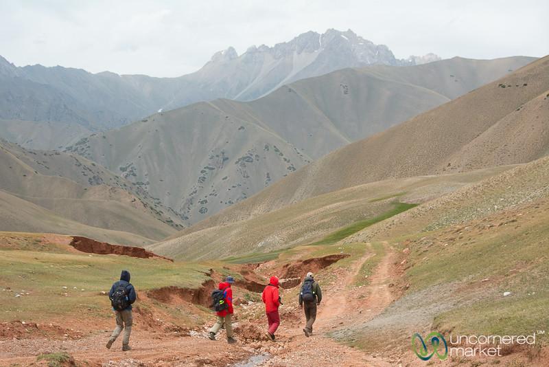 Hiking Through the Alay Mountains of Kyrgyzstan