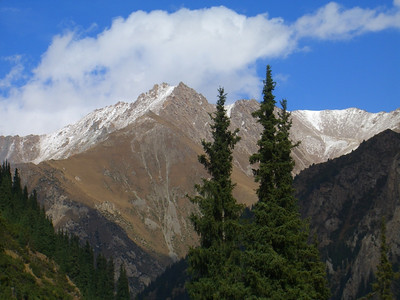 Views of Tian Shan Mountains - Kyrgyzstan