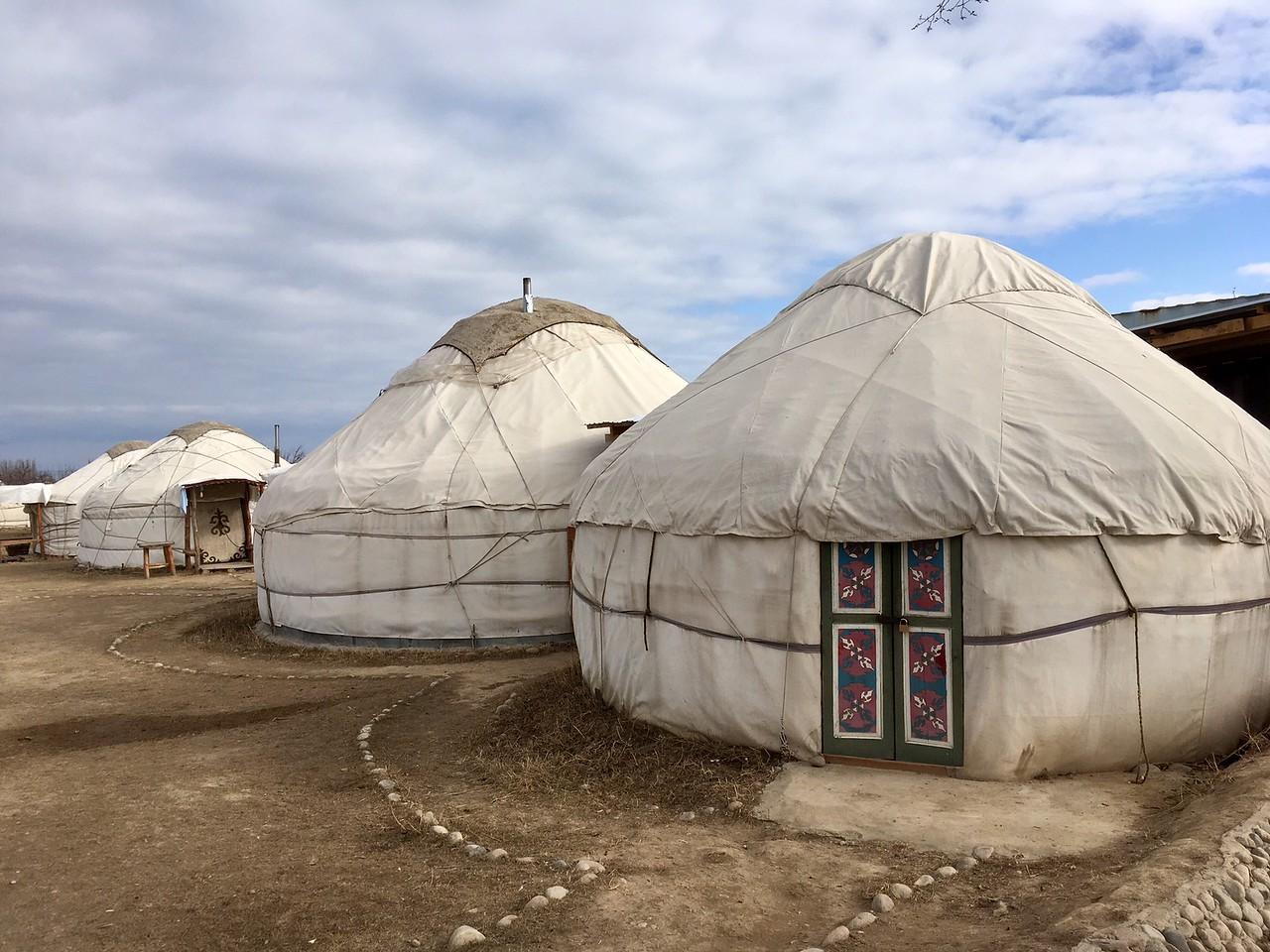 Almaluu Yurt Camp - Southern Shore Issyk-Kul, Kyrgyzstan