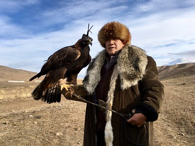Hunting with Golden Eagles - Bakonbaevo, Southern Shore, Kyrgyzstan