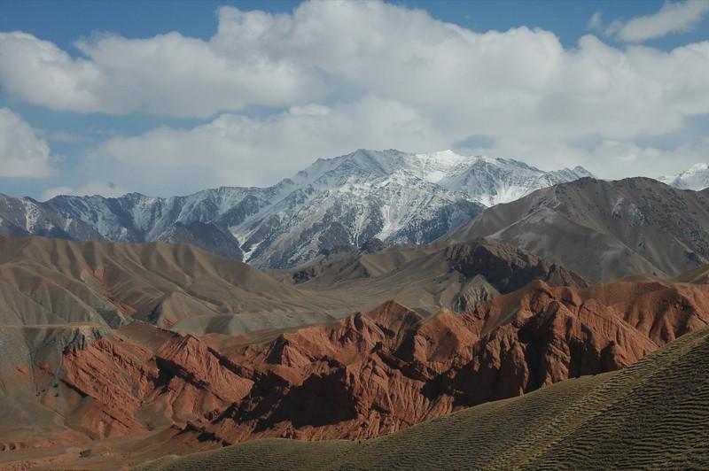 Snow-Capped Mountains - Osh to Sary Tash, Kyrgyzstan