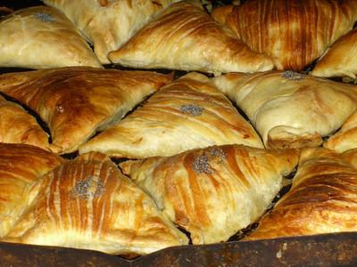 Somsas (Meat Pastry) - Bishkek, Kyrgyzstan