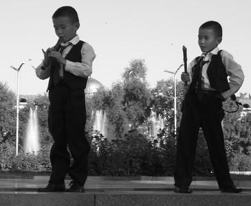 Young Kyrgyz Performers - Bishkek, Kyrgyzstan