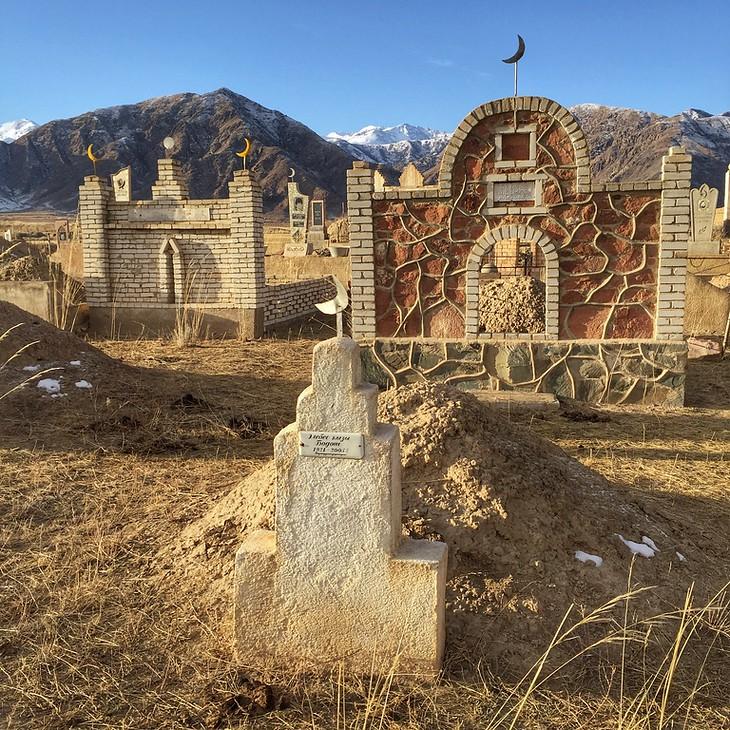 Kyrgyz Cemetery - Southern Shore of Lake Issyk-Kul, Kyrgyzstan